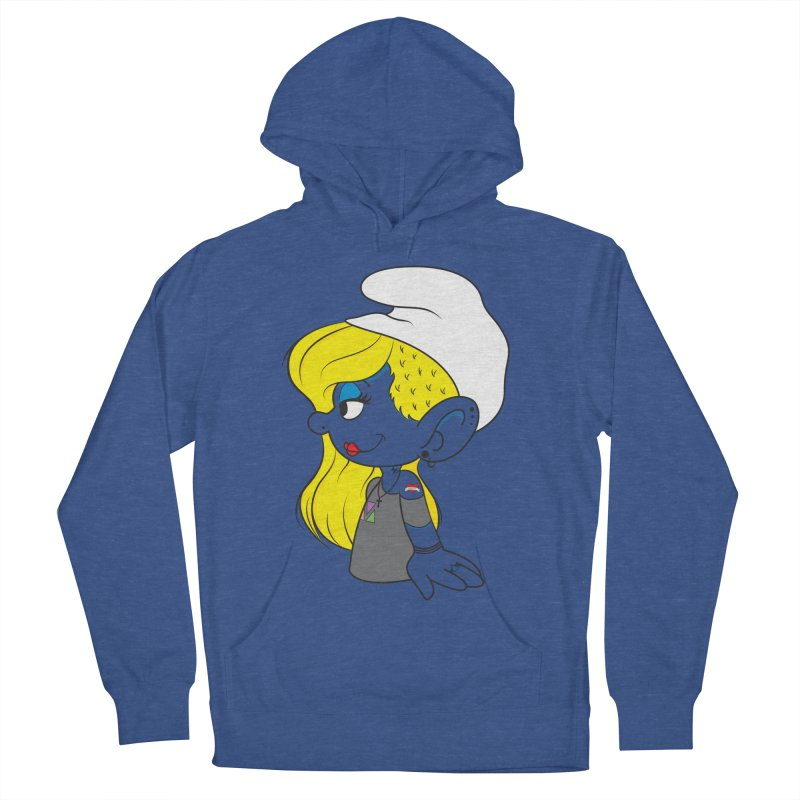 Hipster Smurfette Men's Pullover Hoody by Rizzofied