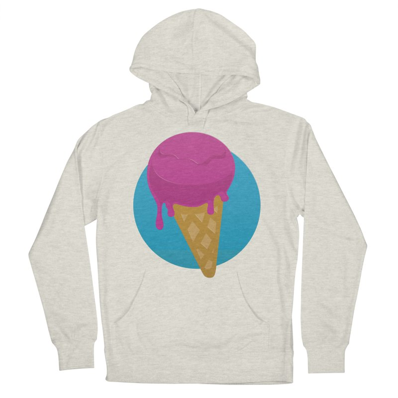 Ice Cream Cone Women's Pullover Hoody by Rizzofied