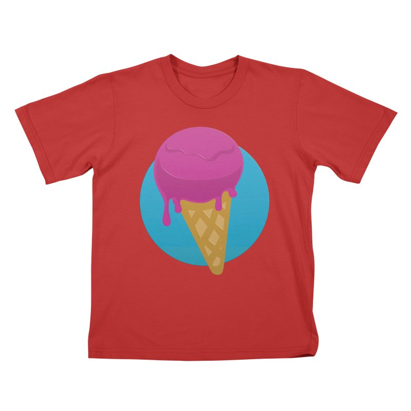 Ice Cream Cone Kids T-shirt by Rizzofied
