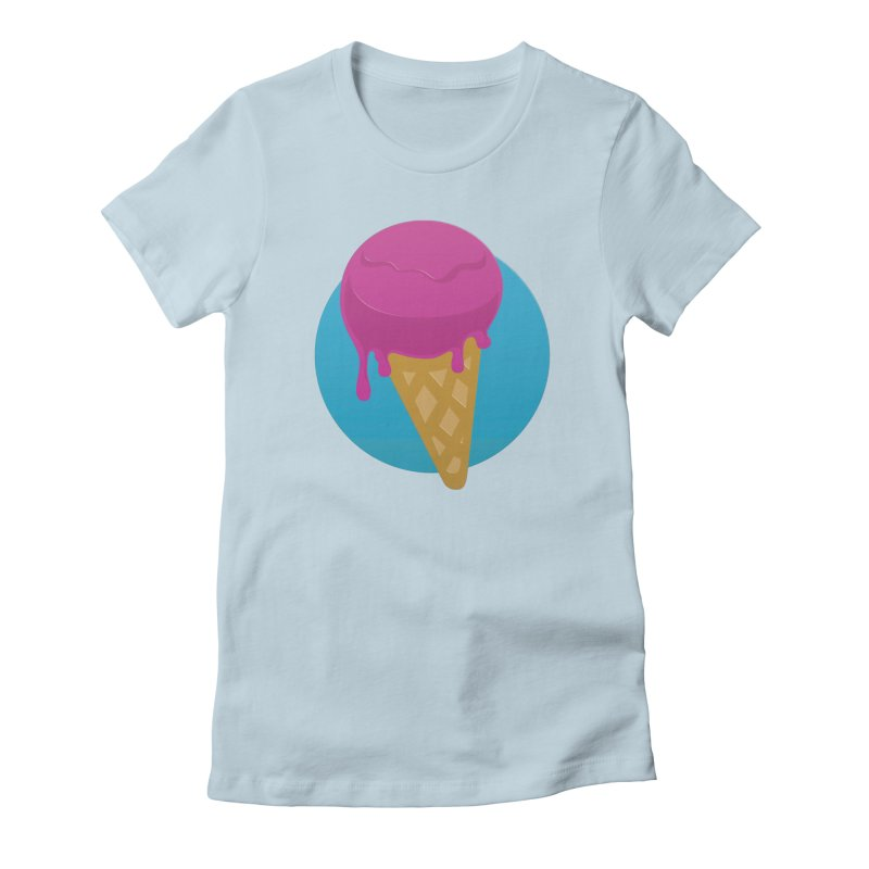 Ice Cream Cone Women's T-Shirt by Rizzofied