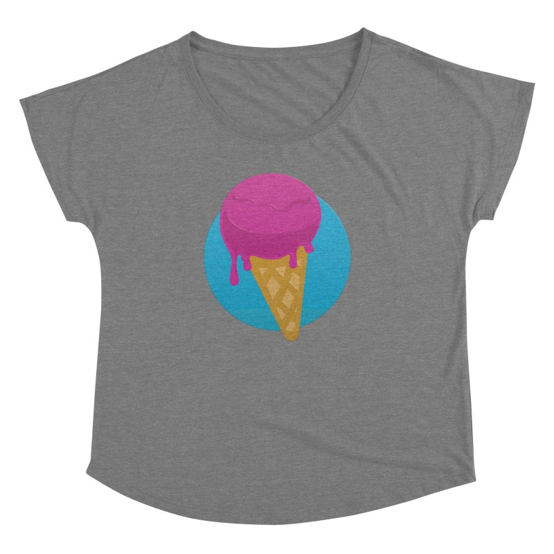 Ice Cream Cone Women's Dolman by Rizzofied