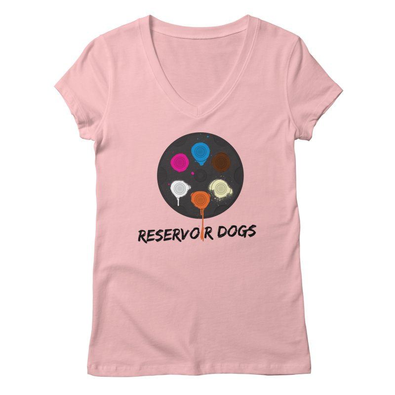 Reservoir Dogs Women's V-Neck by Rizzofied