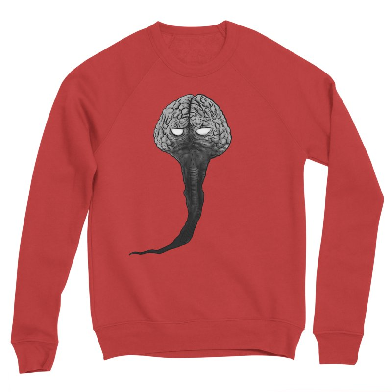 Brain from other World Women's Sponge Fleece Sweatshirt by Pigment World Artist Shop