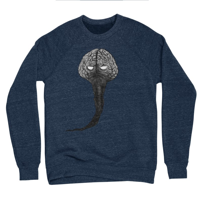 Brain from other World Women's Sponge Fleece Sweatshirt by Pigment World Artist Shop