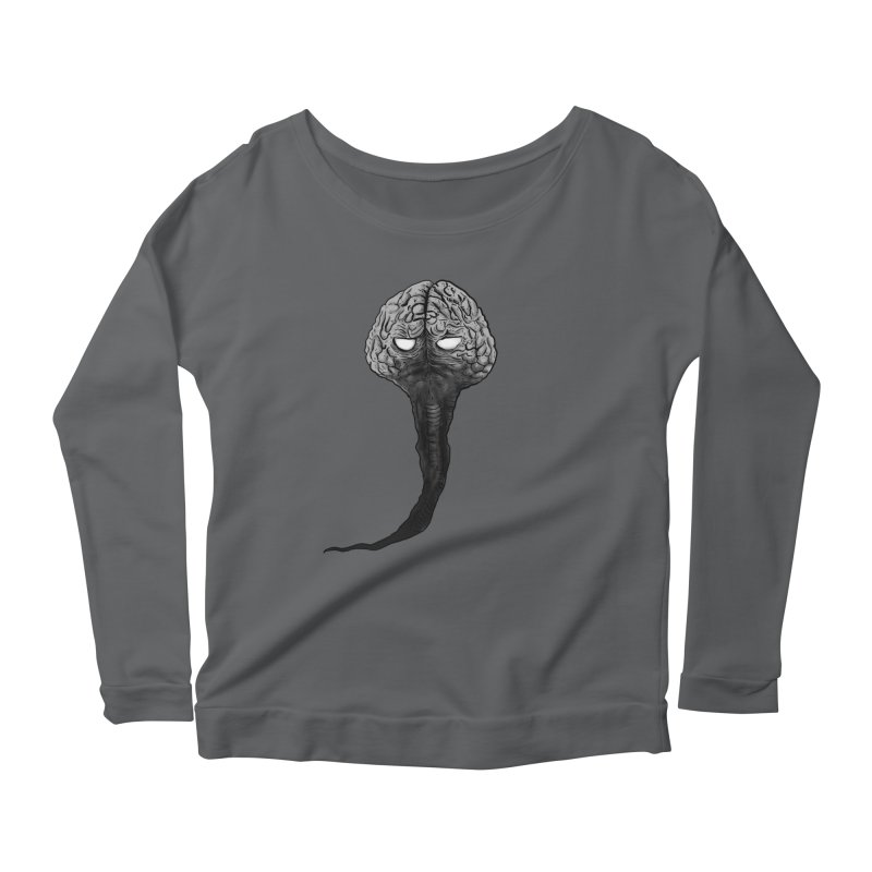 Brain from other World Women's Longsleeve T-Shirt by Pigment World Artist Shop