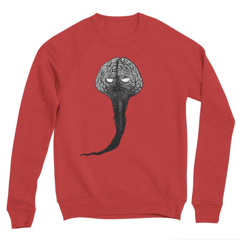 Brain from other World Men's Sweatshirt by Pigment World Artist Shop
