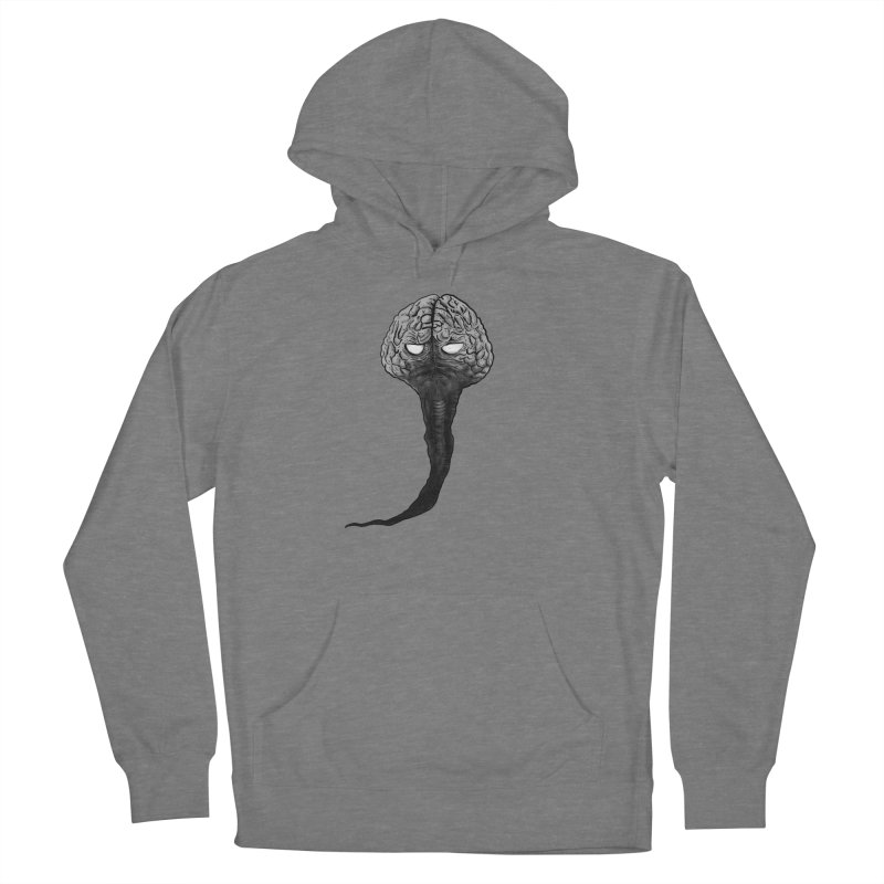 Brain from other World Women's Pullover Hoody by Pigment World Artist Shop