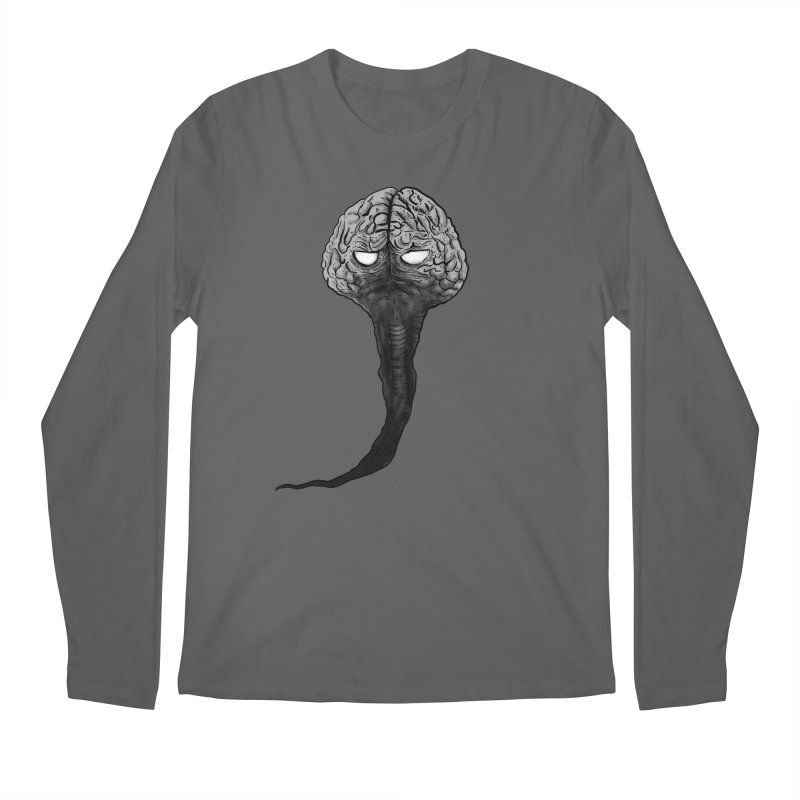 Brain from other World Men's Longsleeve T-Shirt by Pigment World Artist Shop