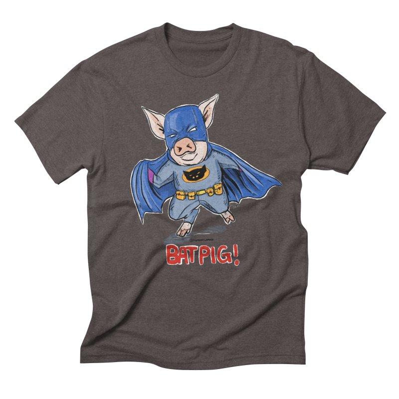 BatPig Men's Triblend T-shirt by rjamadoart's Artist Shop