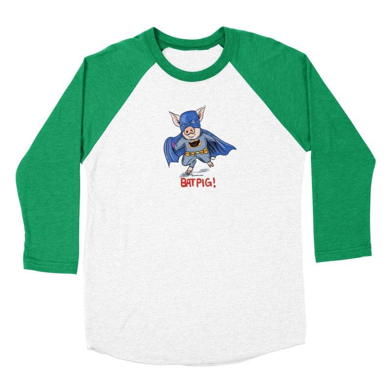 BatPig Men's Longsleeve T-Shirt by Pigment World Artist Shop