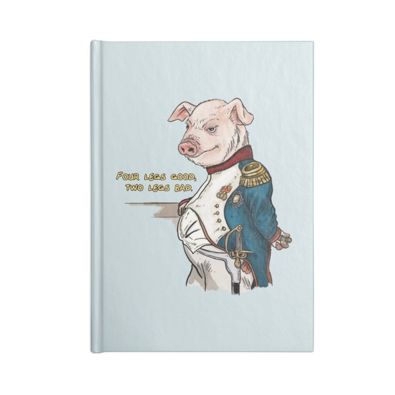 Napoleon Pig Accessories Lined Journal Notebook by Pigment World Artist Shop