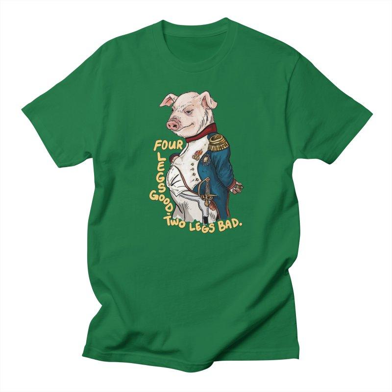 Napoleon Pig Men's T-Shirt by Pigment World Artist Shop