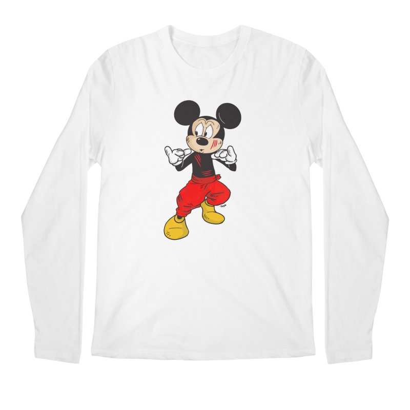 Enter The Mouse  Men's Longsleeve T-Shirt by rjamadoart's Artist Shop