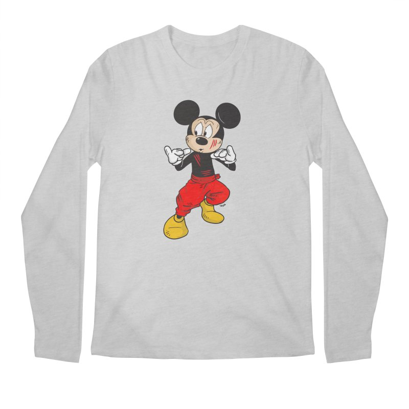Enter The Mouse  Men's Longsleeve T-Shirt by Pigment World Artist Shop