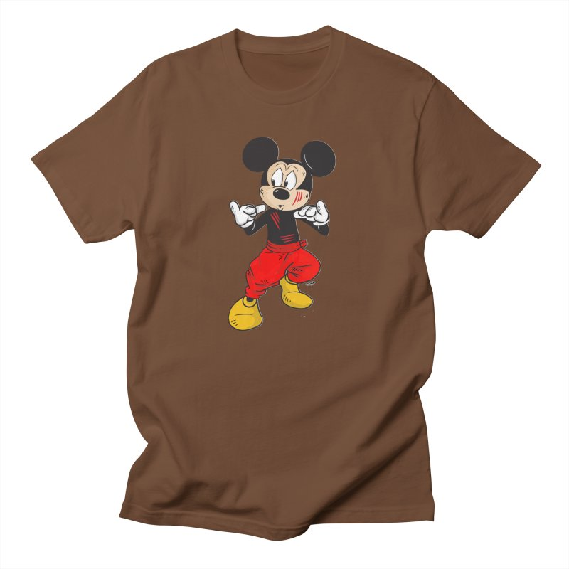 Enter The Mouse  Men's Regular T-Shirt by Pigment World Artist Shop