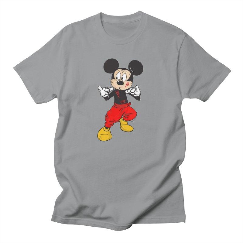 Enter The Mouse  Men's T-shirt by rjamadoart's Artist Shop