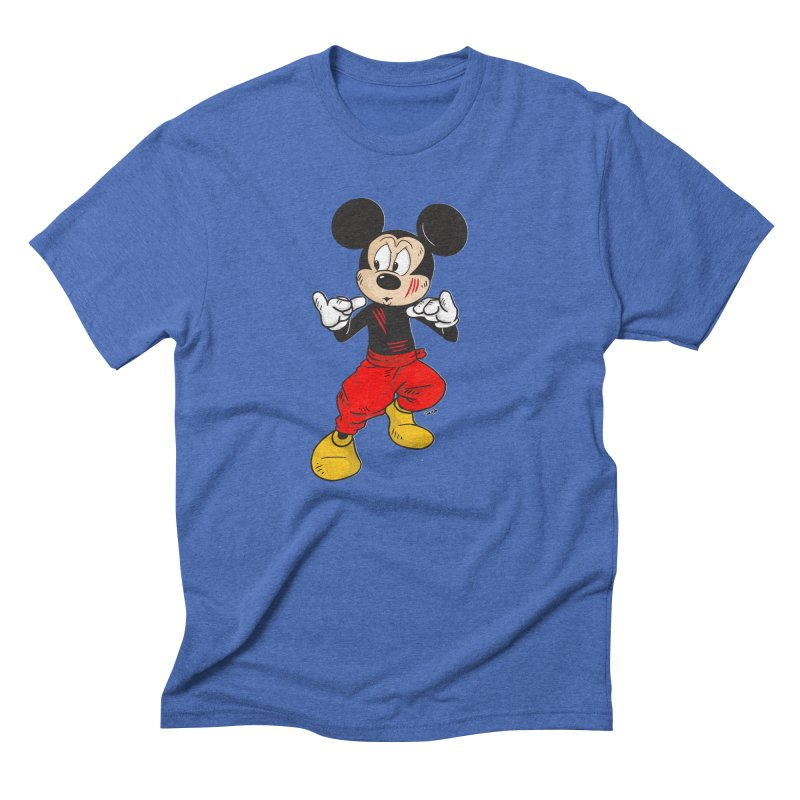 Enter The Mouse  Men's Triblend T-Shirt by Pigment World Artist Shop
