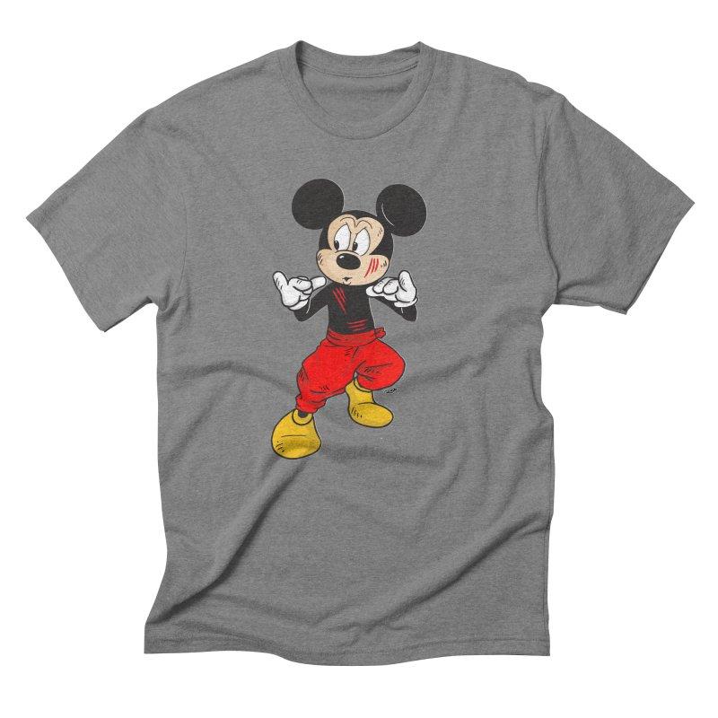 Enter The Mouse  Men's Triblend T-shirt by rjamadoart's Artist Shop