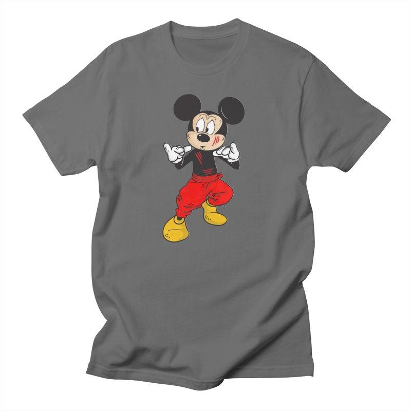 Enter The Mouse Men's T-Shirt by Pigment World Artist Shop