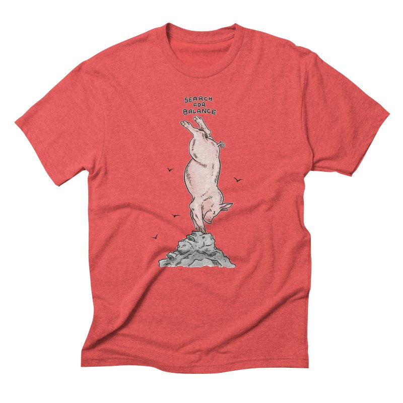 Search for Balance Men's Triblend T-Shirt by Pigment World Artist Shop