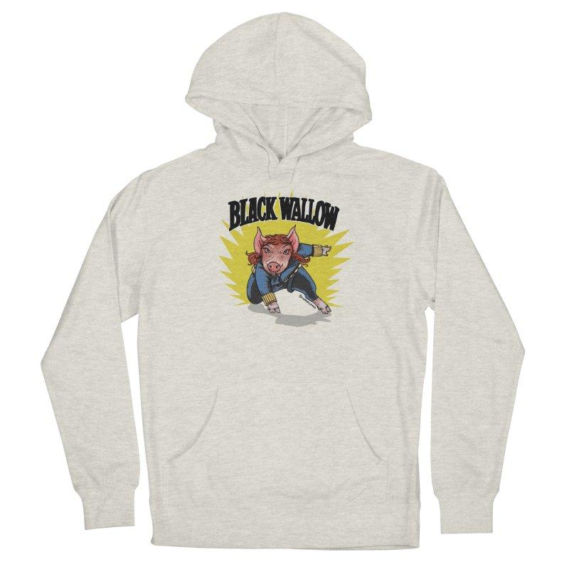 Black Wallow Women's Pullover Hoody by Pigment World Artist Shop