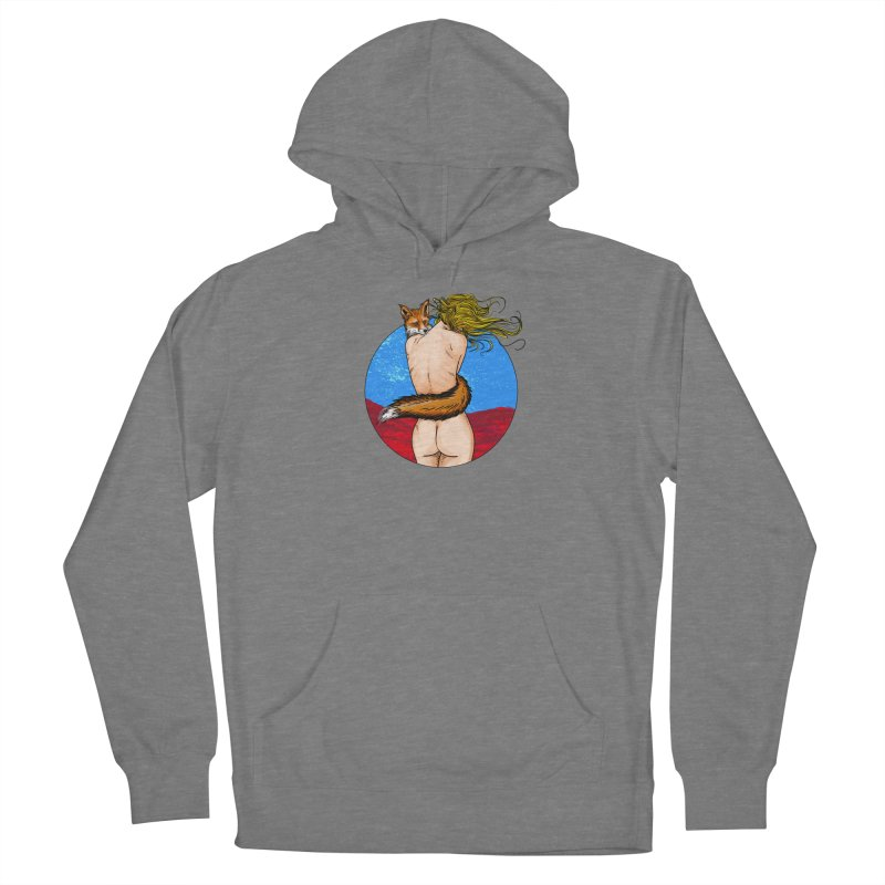 Sly Fox Women's Pullover Hoody by Pigment World Artist Shop