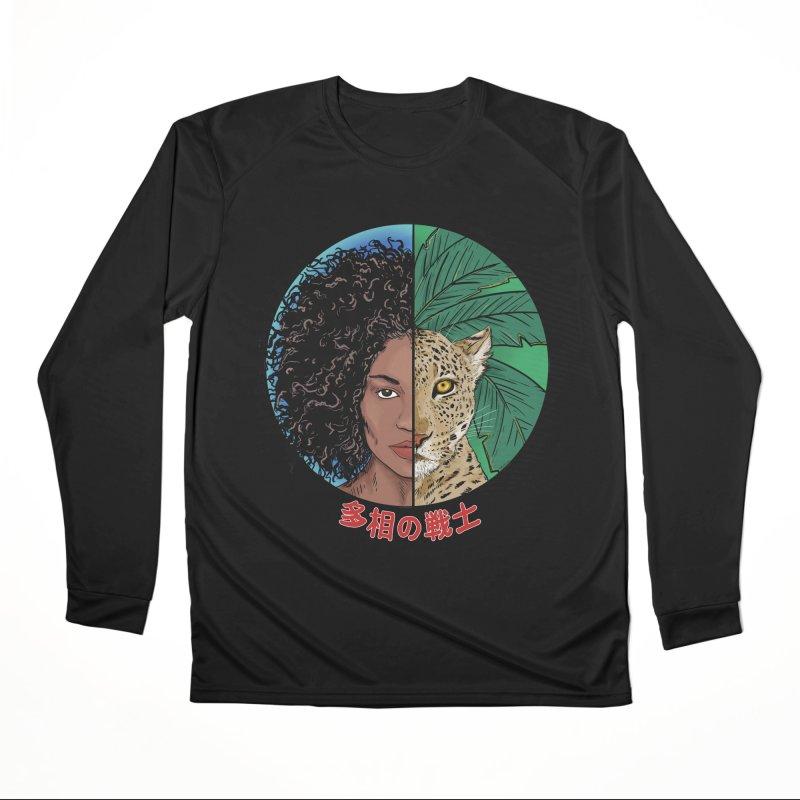 Shape Shifter Women's Longsleeve T-Shirt by Pigment World Artist Shop