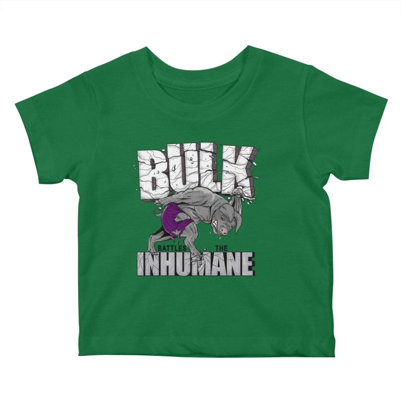 The Bulk Kids Baby T-Shirt by Pigment World Artist Shop