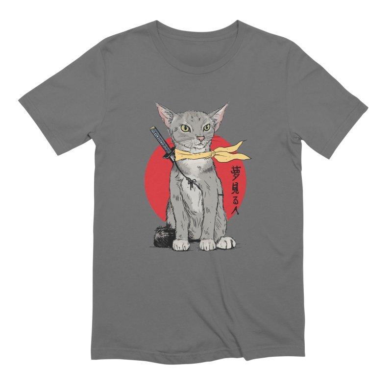 Catsu Men's T-Shirt by Pigment World Artist Shop