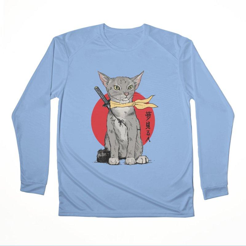 Catsu Men's Longsleeve T-Shirt by Pigment World Artist Shop