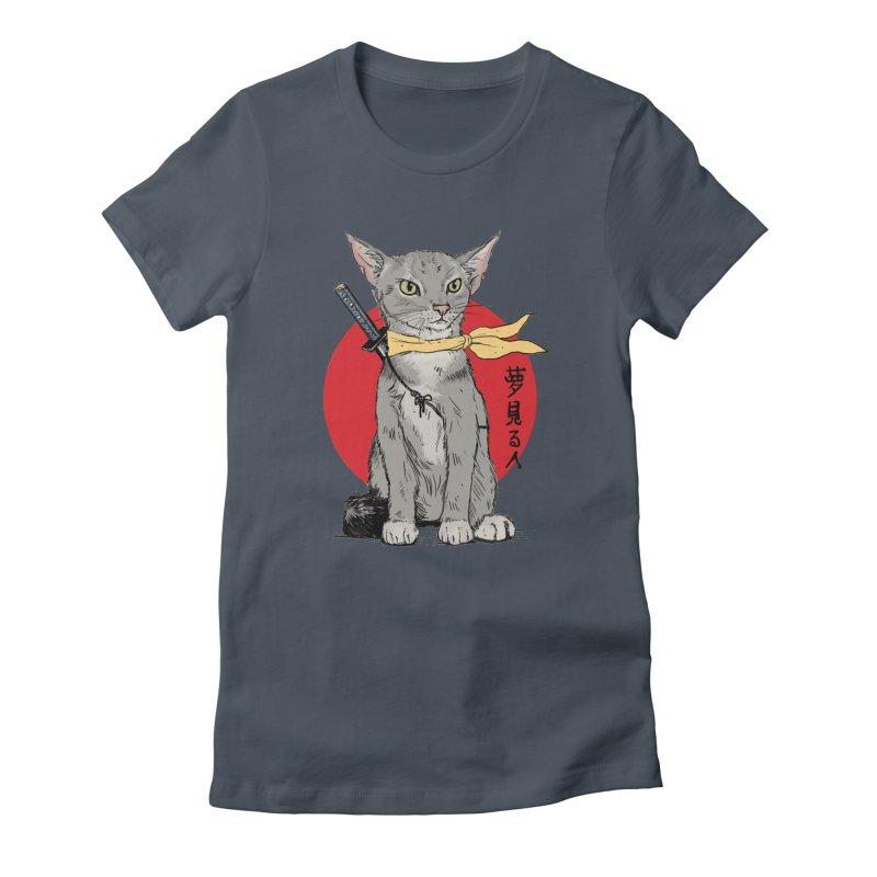 Catsu Women's T-Shirt by Pigment World Artist Shop