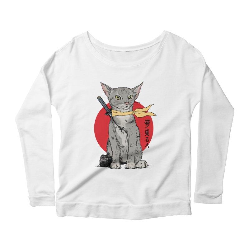 Catsu Women's Longsleeve T-Shirt by Pigment World Artist Shop