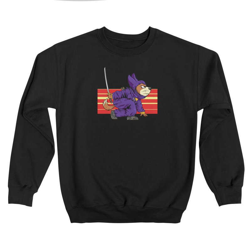 Ninja Doggin Women's Sweatshirt by Pigment World Artist Shop