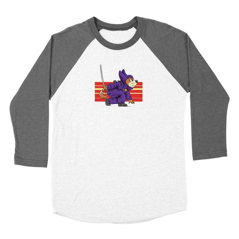 Ninja Doggin Women's Longsleeve T-Shirt by Pigment World Artist Shop