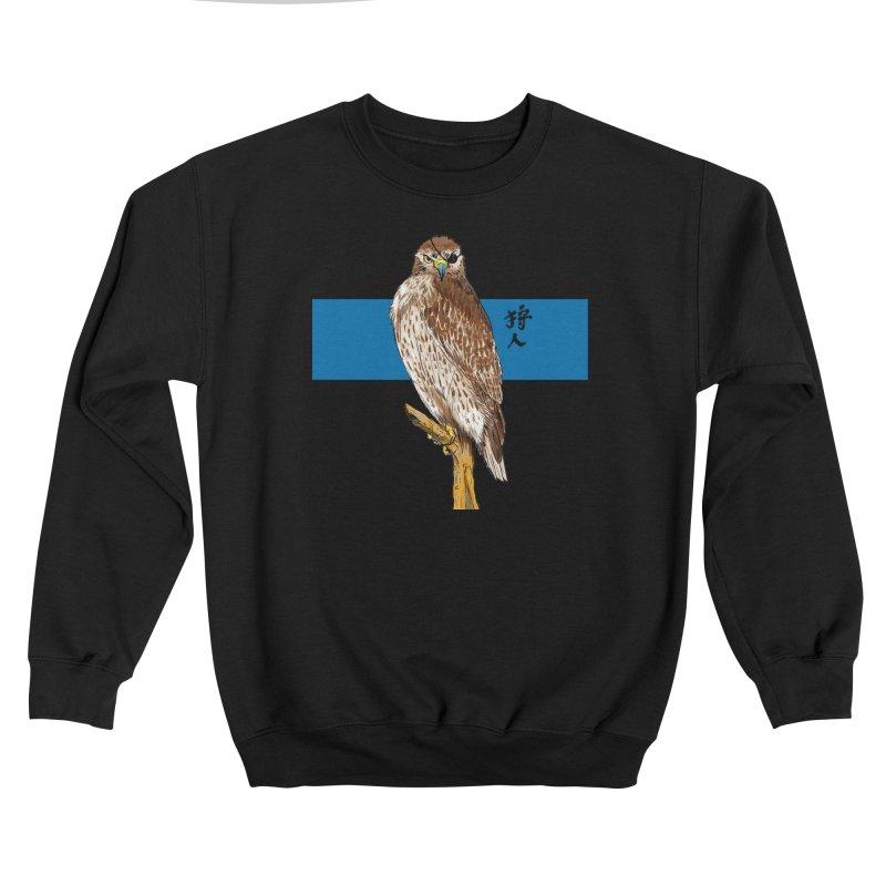 The Falcon Hunter Women's Sweatshirt by Pigment World Artist Shop