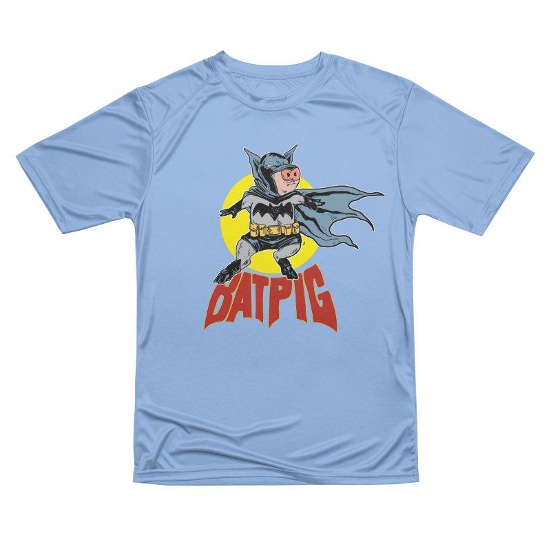 Bat Pig Women's T-Shirt by Pigment World Artist Shop