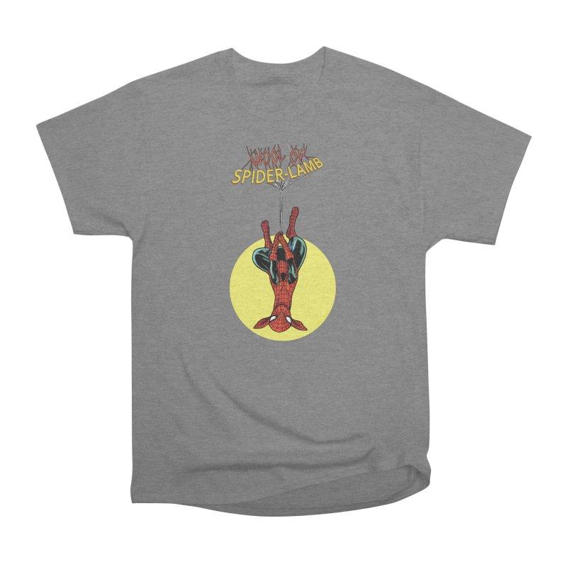 Spider-Lamb Men's T-Shirt by Pigment World Artist Shop