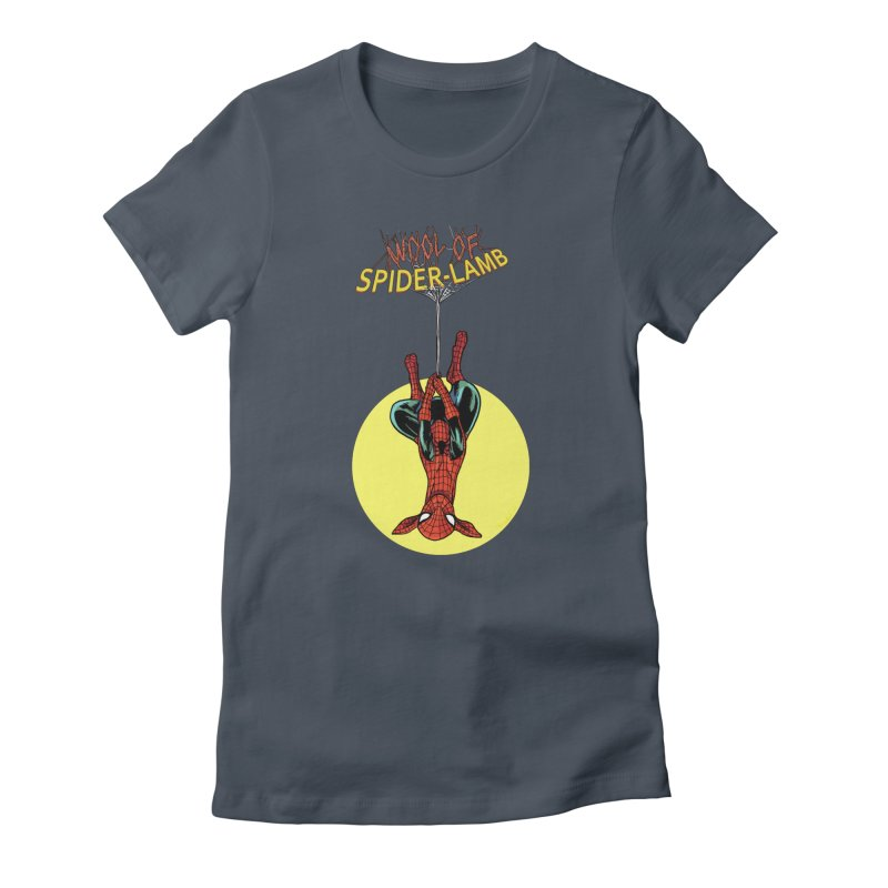 Spider-Lamb Women's T-Shirt by Pigment World Artist Shop