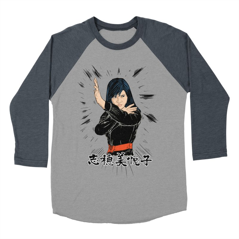 Retro Street Fighter Women's Baseball Triblend Longsleeve T-Shirt by Pigment World Artist Shop
