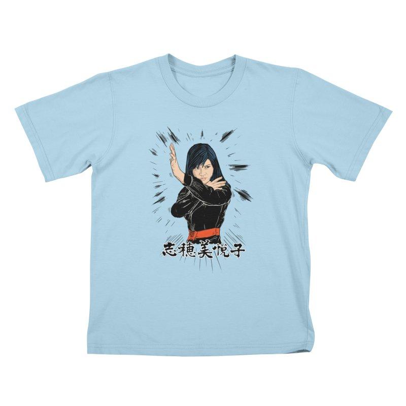 Retro Street Fighter Kids T-shirt by rjamadoart's Artist Shop