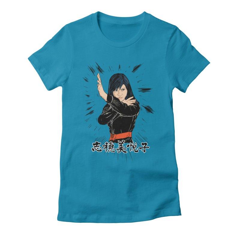 Retro Street Fighter Women's T-Shirt by Pigment World Artist Shop