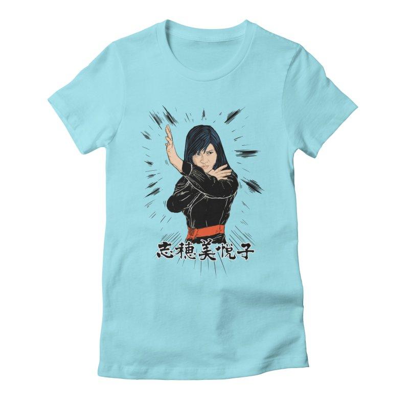 Retro Street Fighter Women's Fitted T-Shirt by rjamadoart's Artist Shop
