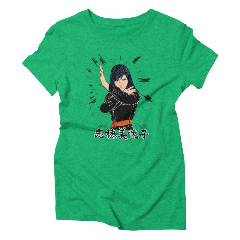 Retro Street Fighter Women's Triblend T-Shirt by Pigment World Artist Shop