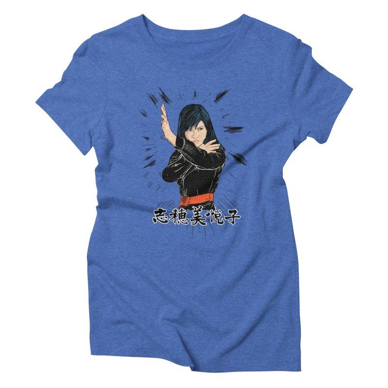 Retro Street Fighter Women's Triblend T-shirt by rjamadoart's Artist Shop