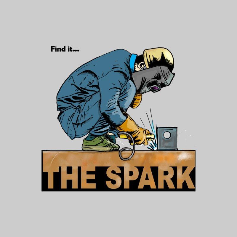 The Spark  Men's T-Shirt by Pigment World Artist Shop