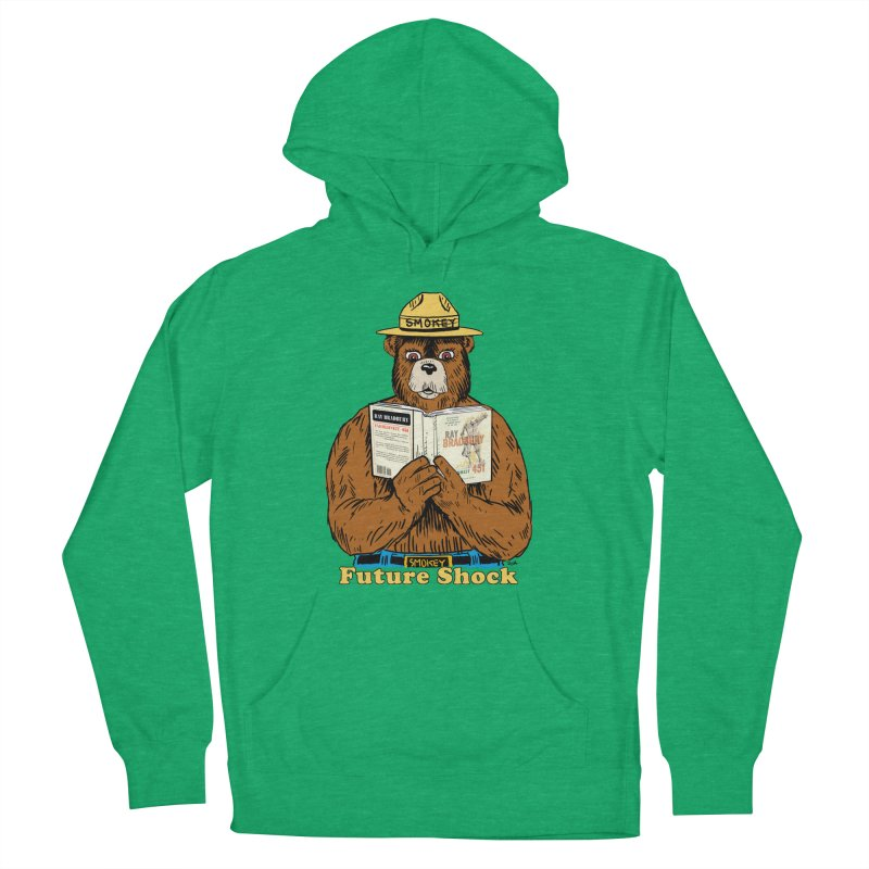 Future Shock  Women's Pullover Hoody by Pigment World Artist Shop