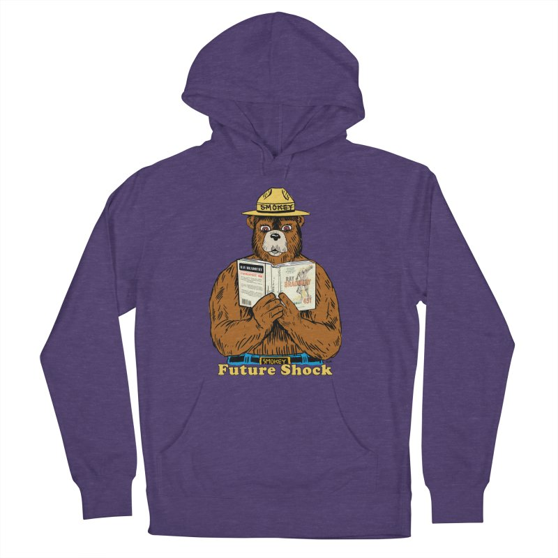 Future Shock  Women's French Terry Pullover Hoody by Pigment World Artist Shop