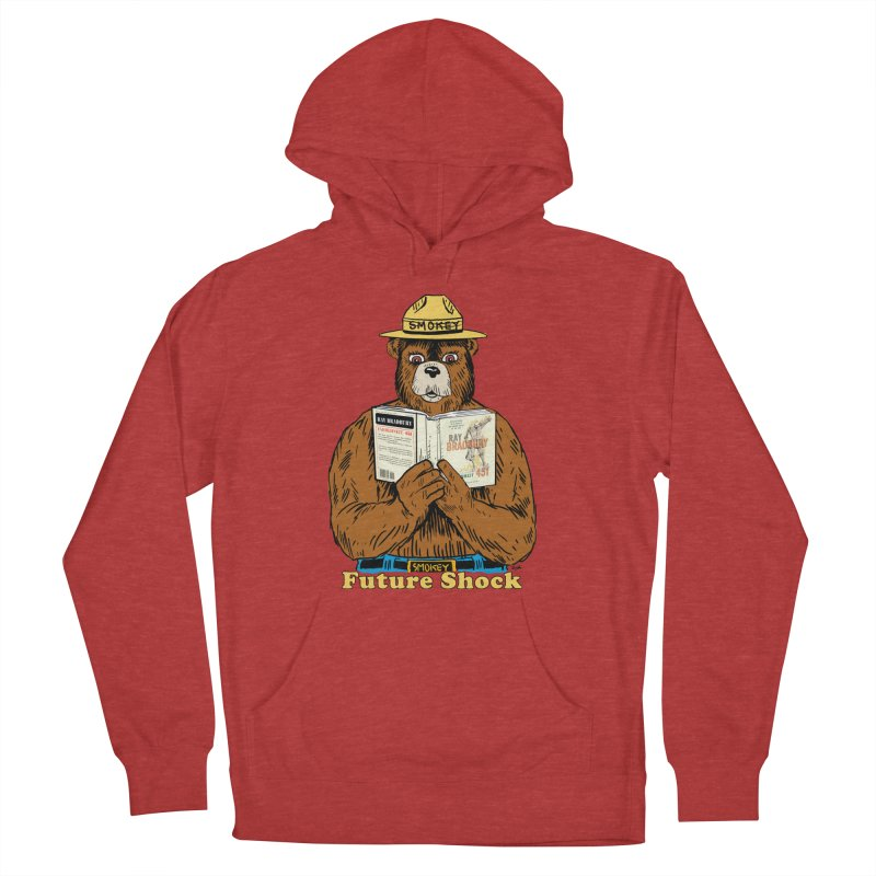 Future Shock  Men's French Terry Pullover Hoody by Pigment World Artist Shop