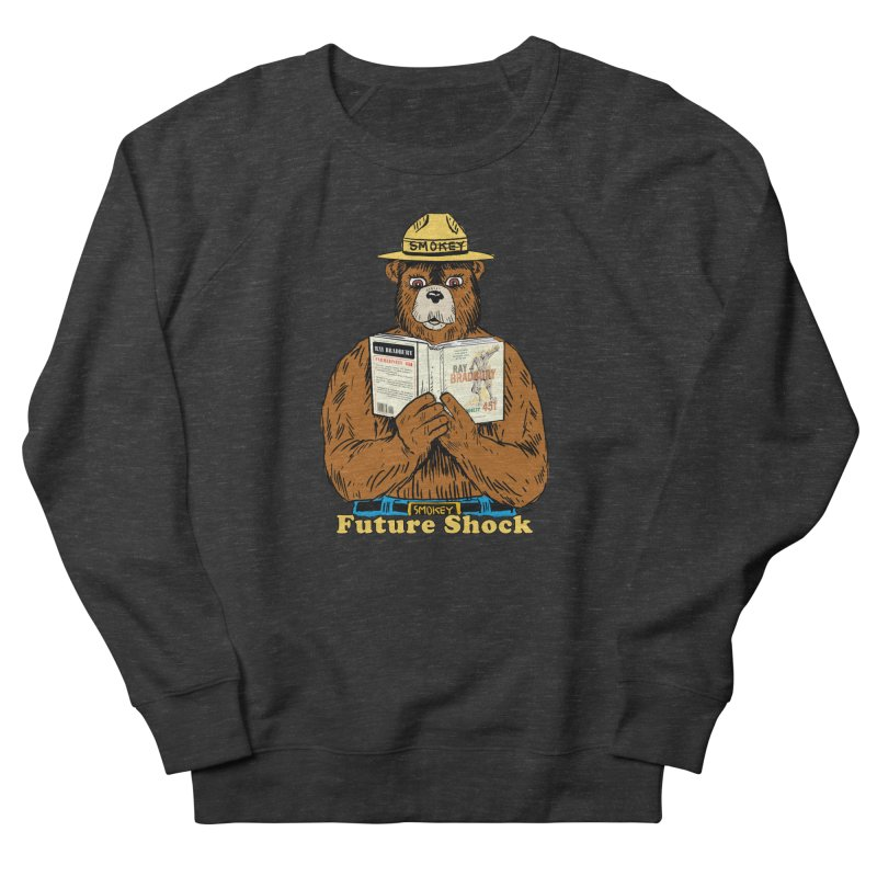 Future Shock  Men's French Terry Sweatshirt by Pigment World Artist Shop