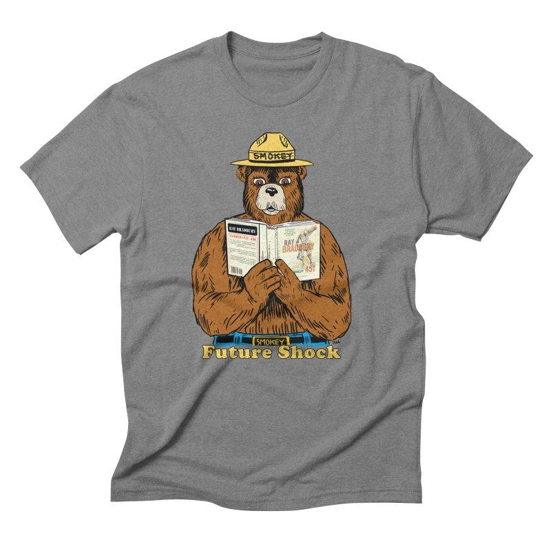 Future Shock  Men's Triblend T-shirt by rjamadoart's Artist Shop